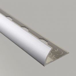 Završna lajsna 10mm srebro mat
