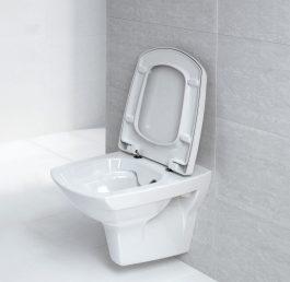 Carina konzolna wc šolja rimless sa ss daskom