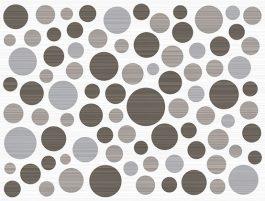 Inserto Ramona Gray Bubbles 25×33