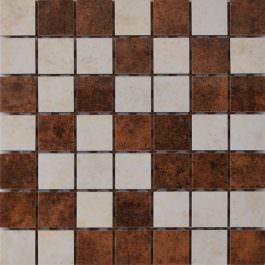 Mozaik Glamur Beige-Brown 25×25