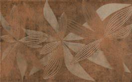 Inserto Glamur Flower Brown 25×40