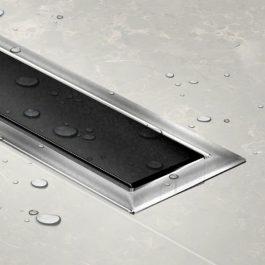 Slivnik Confluo Premium LINE 550 crno staklo