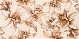 Porto Crema Flower 25×50