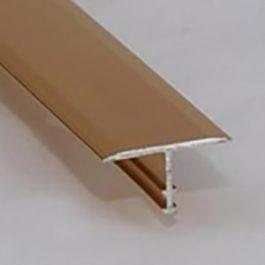 Prelazna T-lajsna 10mm srebro mat