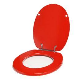 WC daska osovinska Ema crvena
