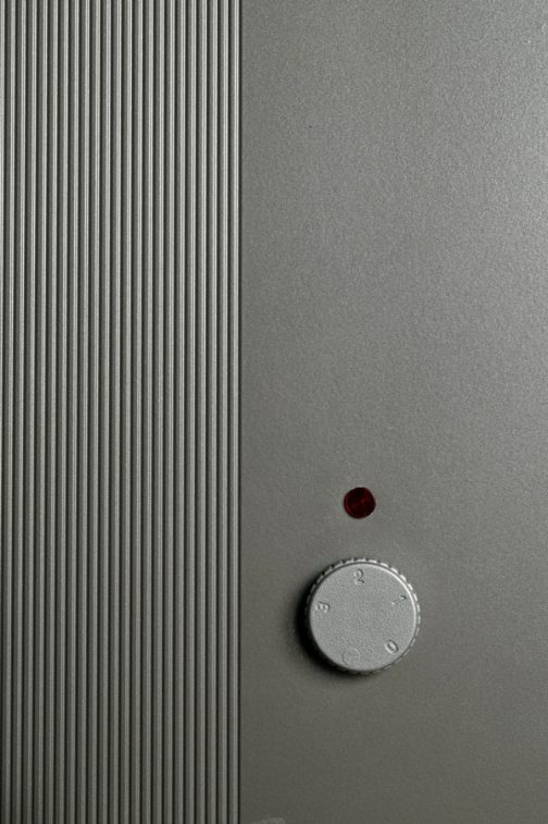 Metalik Sivi Termostat