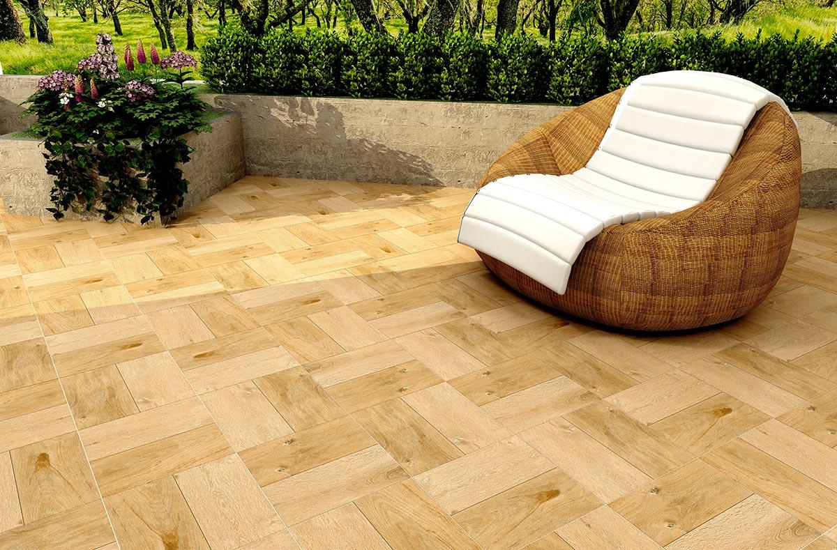 Timber Brown 33x33