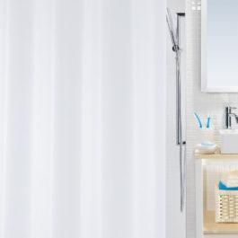 Bio zavesa za kadu bela 180×200