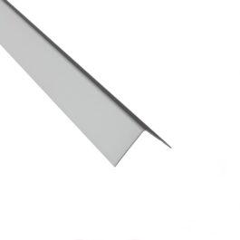 L Lajsna 17 mm srebro mat